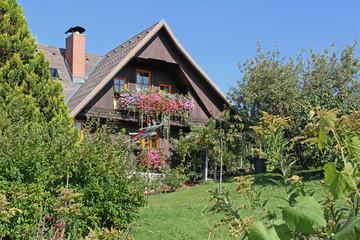 Holzhaus in der Steiermark