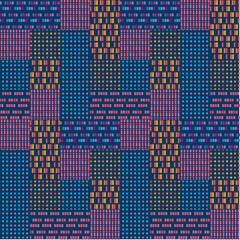 Abstract geometric urban seamless pattern.