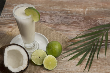 natural coconut lemonade - Cocos nucifera