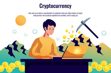 Cryptocurrency Mining Horizontal Composition