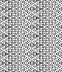 Black and white pattern in minimalist style Modern flat design for printing on fabric, textile, wrapper, paper Seamless background