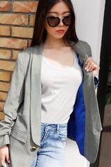 Kazakh fashion woman