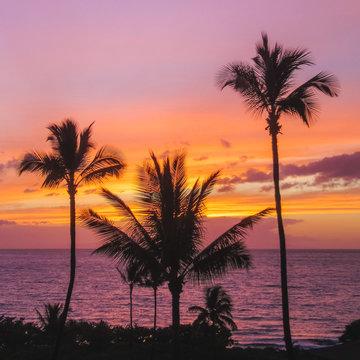 Maluaka Beach Sunset