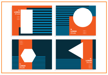 4 Presentation Layouts with Geometric Elements