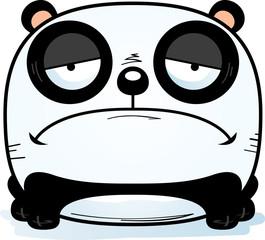 Cartoon Sad Panda Cub