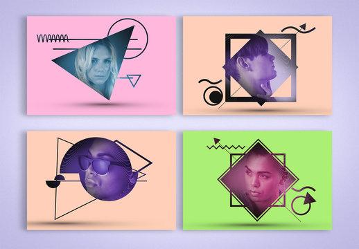 Abstract Visions Photo Masks