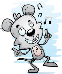 Cartoon Male Mouse Dancing