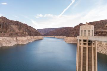 Hoover Dam area of Colorado River