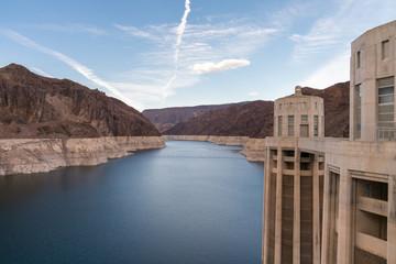 Hoover Dam and Colorado River