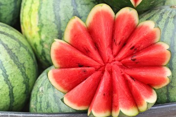 watermelon at the street food
