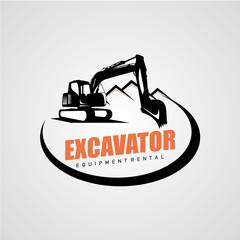 Excavator Logo Designs Templaterint
