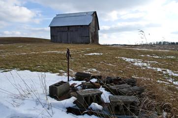 Blocks and Barn