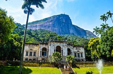 Parque Lage (or Parque Enrique Lage), in the city of Rio de Janeiro, Brazil