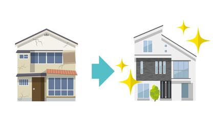 家:建て替え