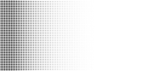Abstract halftone texture with dots.