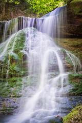 Hörschbachwasserfälle bei Murrhardt hörschbachschlucht