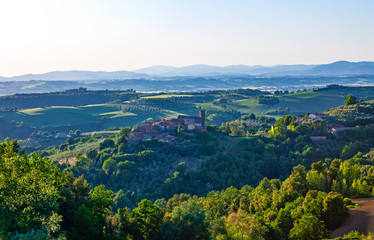The art and tradition of the minor countries of Umbria region