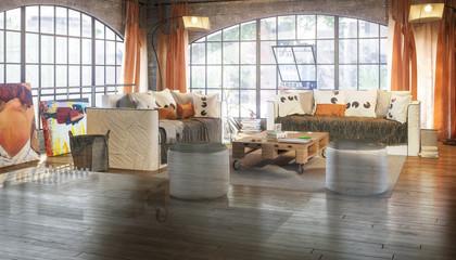 Postindustrial Loft Conception (vision)