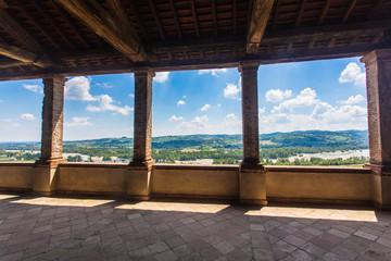 Castello di Torrechiara in provincia di Parma, Emilia Romagna Italia