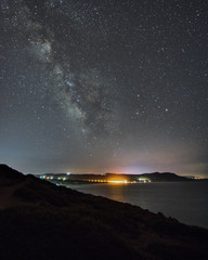 A Milky way in the skies of southern Sardinia