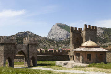 Ancient medieval fortress