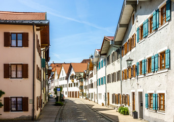 old town of fuessen in bavaria