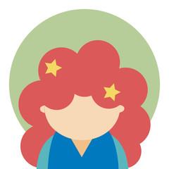Cute girl avatar