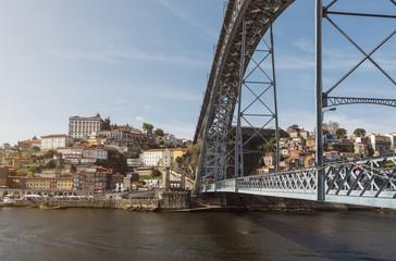 Sideview Dom Luis I Bridge
