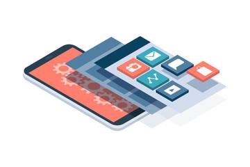 App development and user interface