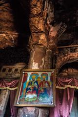Äthiopien - Abraha Asbaha Kirche