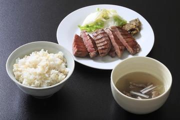 Sendai Beef Tan Set