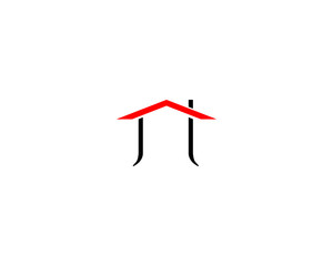 roofing house logo