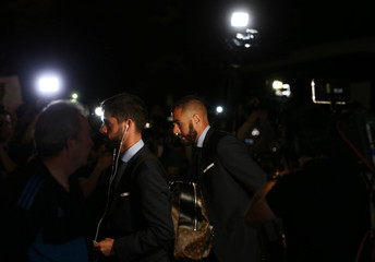 Champions League - Real Madrid Arrive Ahead Of The Final