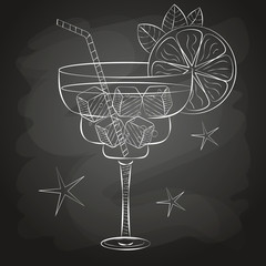 sketch cocktail and alcohol drinks