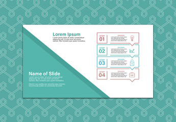Teal and White Infographic Layout