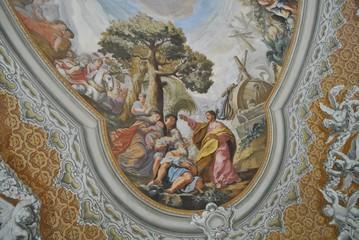 Foto auf AluDibond Kunstdenkmal Malowidło barokowe