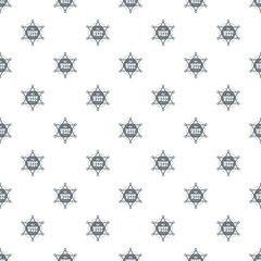 Wild west pattern vector seamless repeat for any web design