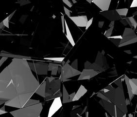 ガラスの抽象的な背景素材