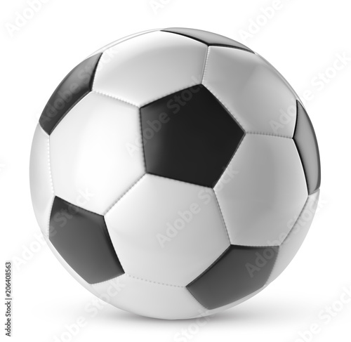 Ballon De Football Vectoriel 12 Stock Image And Royalty Free Vector