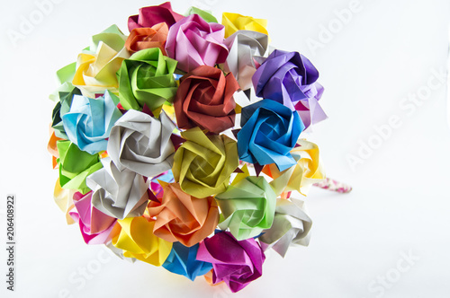 Origami Flower Bouquet Stock Photo And Royalty Free Images On