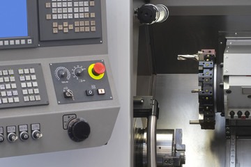 computerized numerical control metalworking machine
