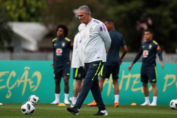 World Cup 2018 - Brazil national soccer team training