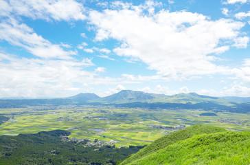 Wall Mural - 阿蘇 大観峰からの眺め