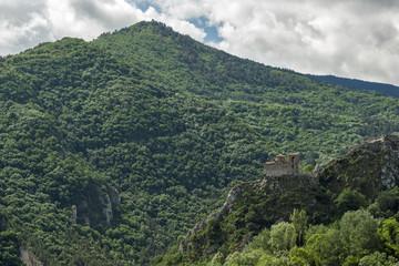 Amazing landscape of Green Hills near town Asenovgrad in Rhodope Mountains, Plovdiv region, Bulgaria