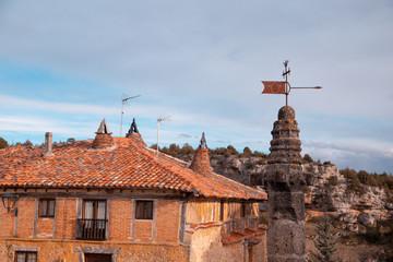 Medieval village of Calatanazor in Soria Spain