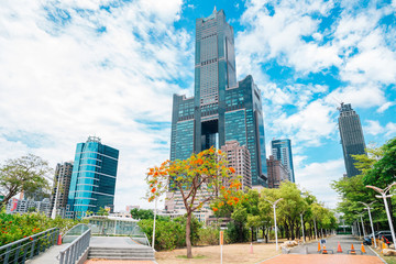 85 sky tower modern building in Kaohsiung, Taiwan
