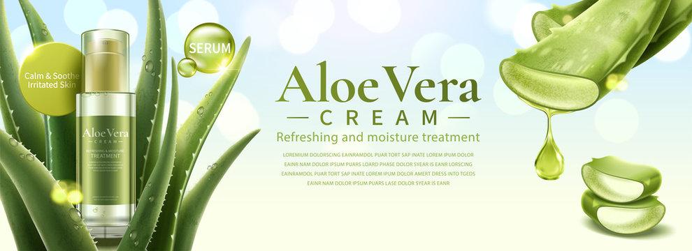 Aloe Vera skin care product