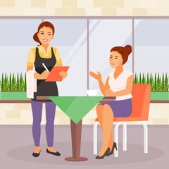 Cafe vector illustration