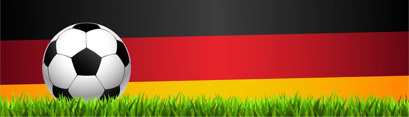 Fussball Banner