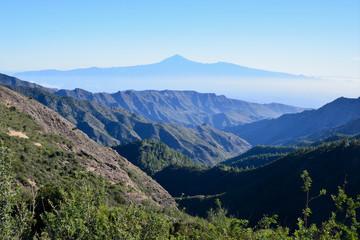 La Gomera: Roque de Agando, Roque de la Zarcita, Roque de Ojila
